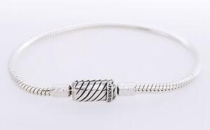 Details about NEW Authentic PANDORA 925 Moments Sliding Magnetic Charm  Bracelet 599103C00