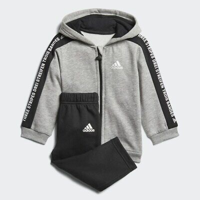 adidas Full Zip Tracksuit Set | Infant Boys Outfits