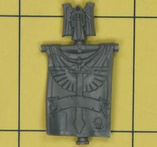 Warhammer 40K Space Marines Dark Angels Company Veterans Back Banner (A)