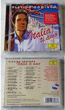 PLACIDO DOMINGO Italia, Ti Amo .. Deutsche Grammophon CD