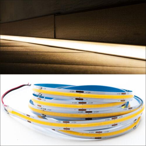 Striscia flessibile LED COB lineare lama luce continua profili 70W 12V 5M 7000lm