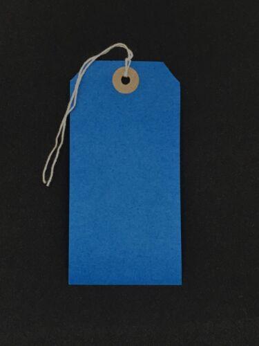 Enfilées cravate sur les balises Chaîne bagage étiquettes mariage artisanat 120 mm x 60 mm