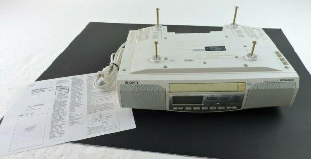 Sony Icf Cd513 Under Cabinet Fm Am Cd Kitchen Clock Radio