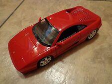 1:18 SCALE--HOT WHEELS--RED FERRARI BERLINETTA F355 CAR (LOOK)