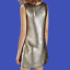 ZARA-Metallic-Silver-Sequinned-Party-Midi-Dress-Woman-Authentic-BNWT-M-0787-225 thumbnail 5