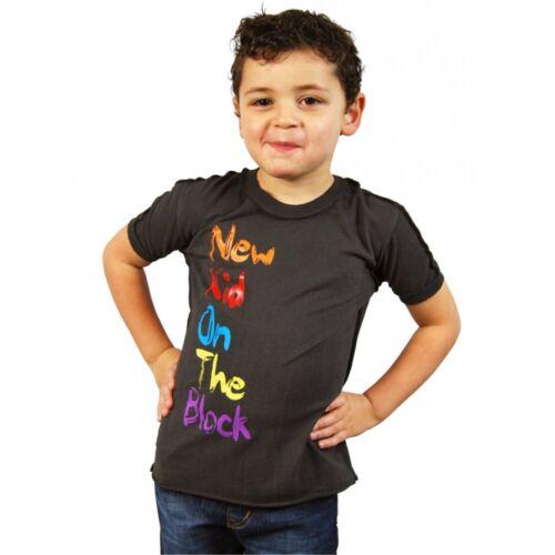 Amplified New Kids On The Block Kids T shirt NKOTB Childrens Boys Girls Rock Tee