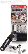Alpine MusicSafe Pro Earplugs Reusable Party Noise Block Safety DJ Ear Plugs