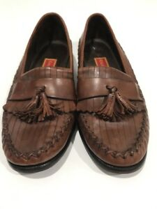 784dfd74116 Cole Haan Country Women s Brown Leather Loafers W  Stitch And Tassel ...