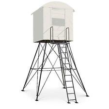 Landmark 10' Hunting Tower Stand Blind Platform Hunt Deer Hog Rifle Bow Archery