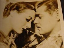 Vintage  Original 1934 Joan Crawford & Clark Gable Chained Movie Fan Photo Still