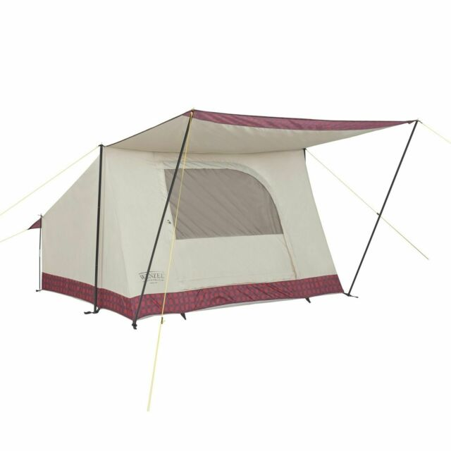 4 PERSON WENZEL TENT ~NEW~ COOL ~63 SQ. FEET ~ UNIQUE COVERED ENTRANCE~EASIEST !