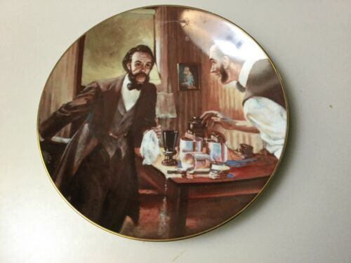 """COME HERE, WATSON"" COLLECTOR PLATE TELEPHONE PIONEERS OF AMERICA"