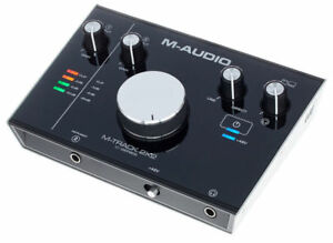 M-Audio-M-Track-2X2-Audio-interface-USB-2-In-2-Out-a-24-bit-192kHz