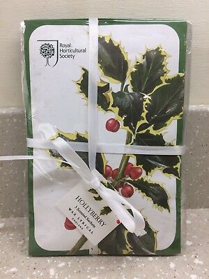 Wax Lyrical//RHS Pack of 3 Scented Sachets Hollyberry