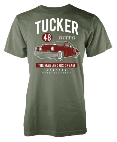 Tucker 48 The Man and His Dream New York Custom Car Adult T Shirt
