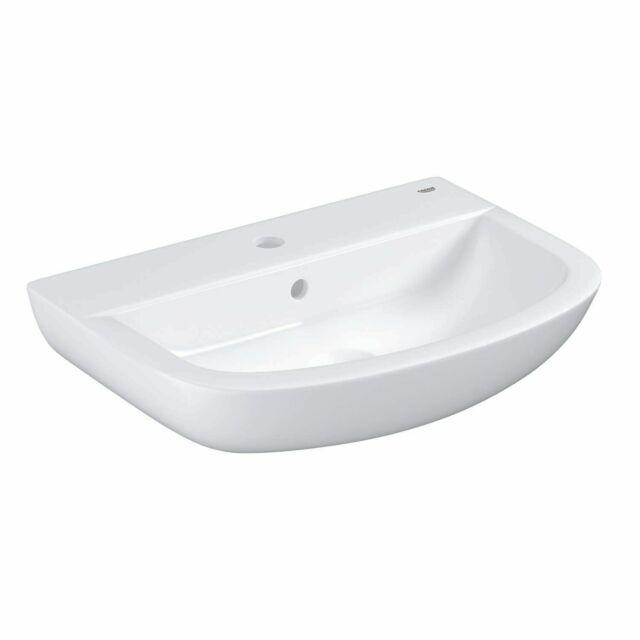 GROHE Waschtisch Bau Keramik 55x39cm Alpinweiß 39440000