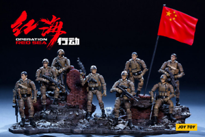1 25 JOY TOY Acid Rain Operation Red Sea Special Forces 8 Pieces Action Figure