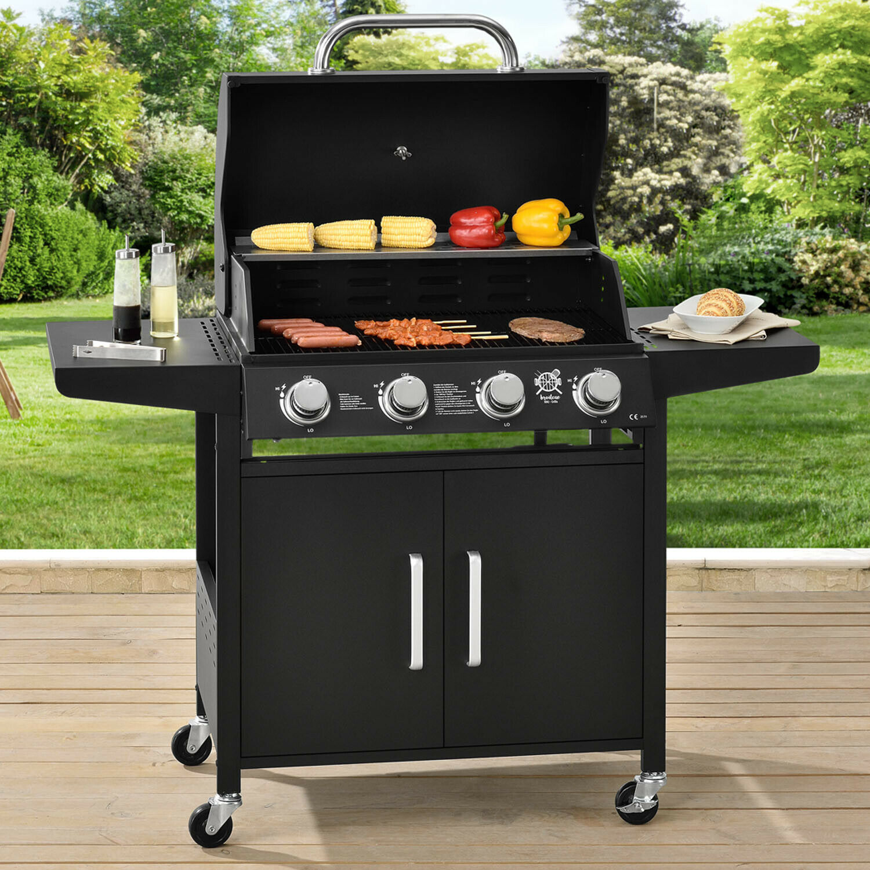 TOP LUXE 499€ BBQ au gaz grill cuisine de jardin four