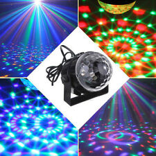 3W RGB LED Stage Light Crystal Magic Ball Effect Light Sound Control DJ Party