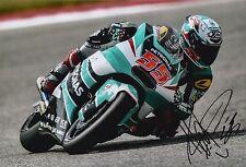 Hafizh Syahrin Hand Signed 12x8 Photo Petronas Kalex Moto2 2016 MOTOGP 1.