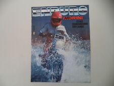 advertising Pubblicità 1986 MOTO MORINI CAMEL 501