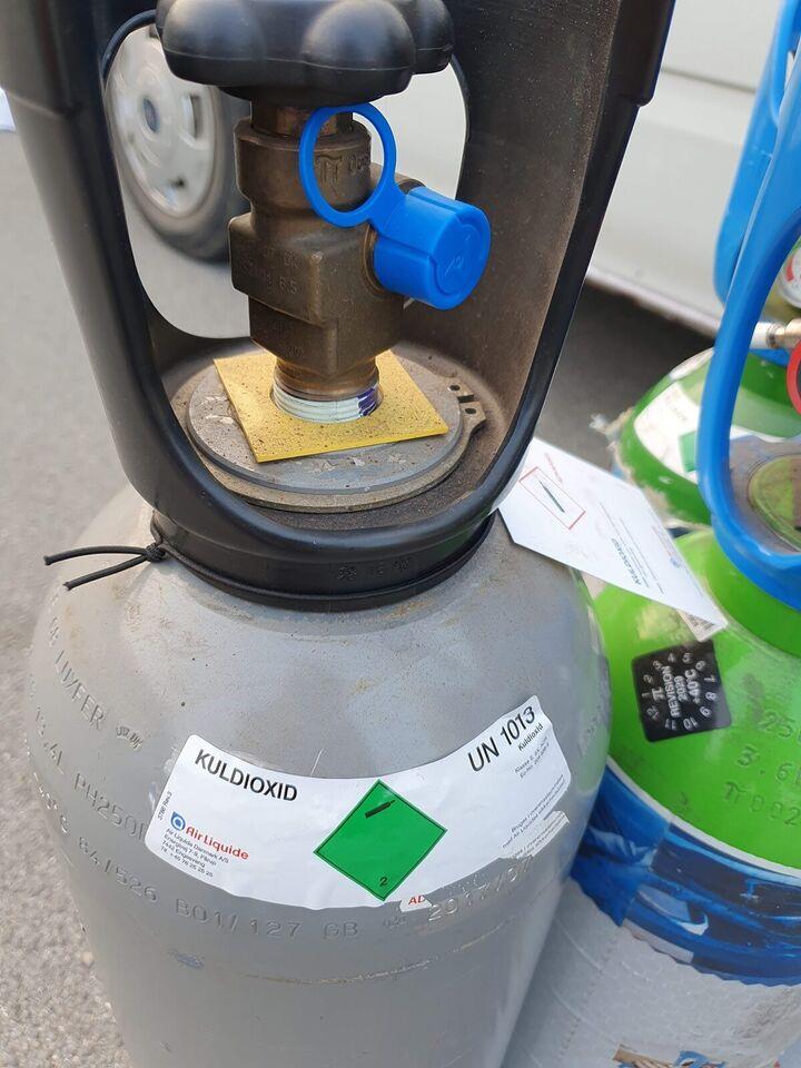 Svejse gas argon mix, kuldioxid co2