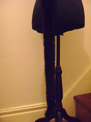 """Black Tail Faux Fur Long 28"""" Fancy Dress Kids & Adults Harmonische Farben"""