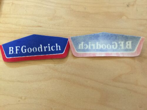 BF GOODRICH 80/'s,VINTAGE patch,IRON ON nEW OLD STOCK