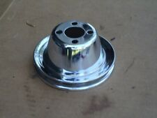 Volvo 122 120 544 164 P1800 1800 140 B18 B20 Chrome Water Pump Pulley