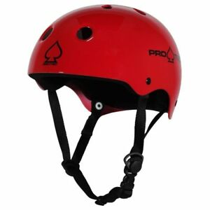 Protec Classic Skate Helmet Gloss Red  Size Medium Skate Scooter Pro-Tec