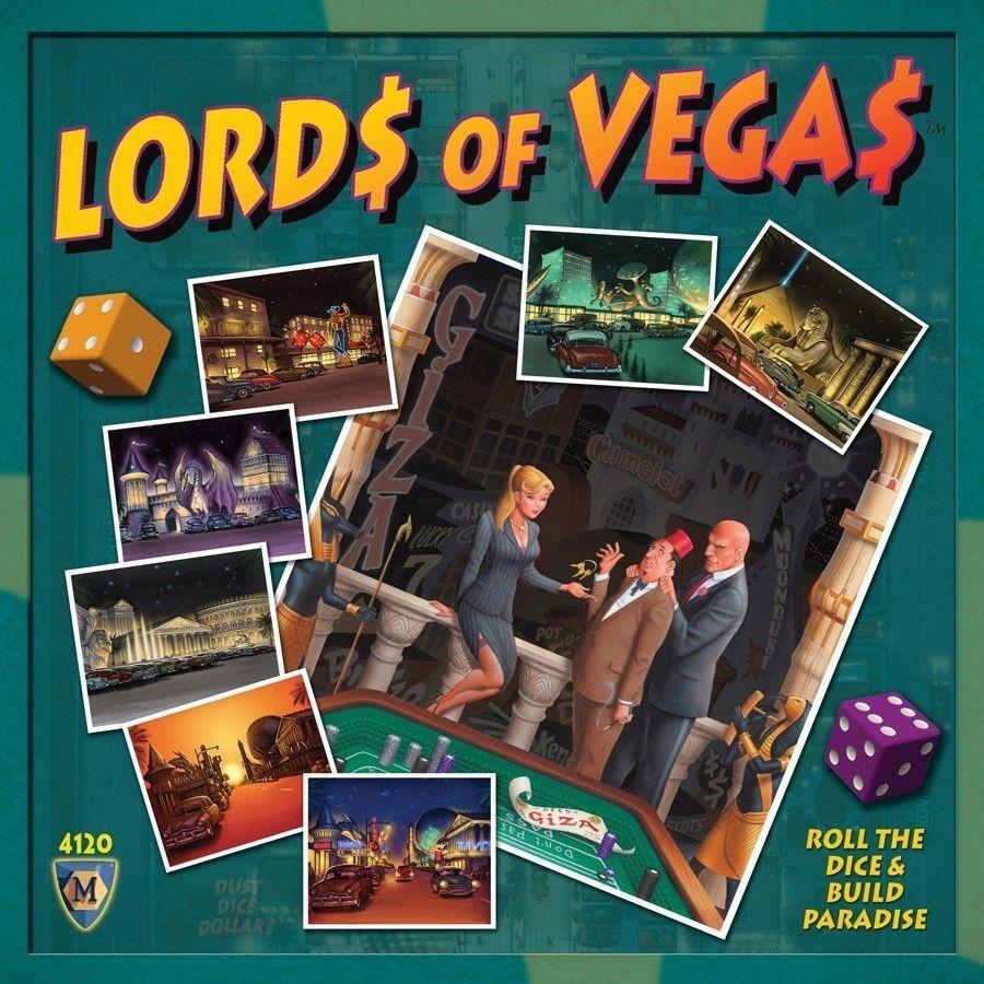 Die neuen herren von las vegas brettspiel von mayfair games fabrik versiegelt