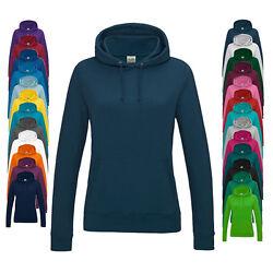 Just Hoods Damen Kapuzenpullover Sweatshirt GIRLIE COLLEGE HOODIE Neu JH001F