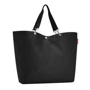 reisenthel shopper XL black - Schultertasche Umhängetasche Strandtasche Schwarz