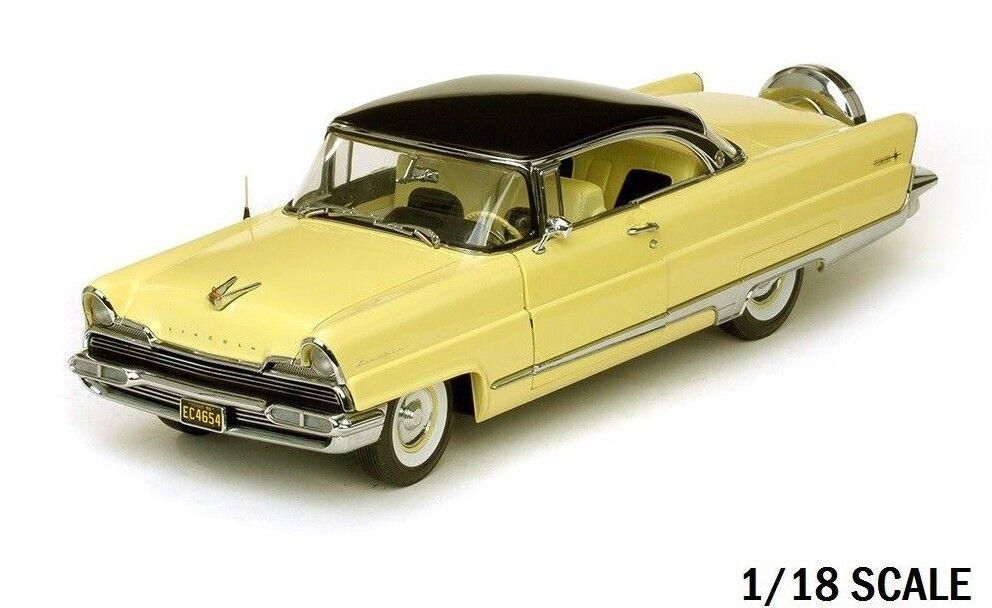 SUNSTAR 1956 LINCOLN PREMIERE HARD TOP presidenziale negro amarillo A SOLE 4654