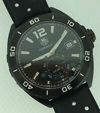 Tag Heuer Formula 1 F1 Automatic Calibre 6 Black PVD Titanium WAZ2112.FT8203 NEW