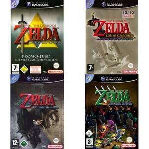 Nintendo-GameCube-Best-of-The-Legend-of-Zelda-Spiele-Zustand-auswahlbar