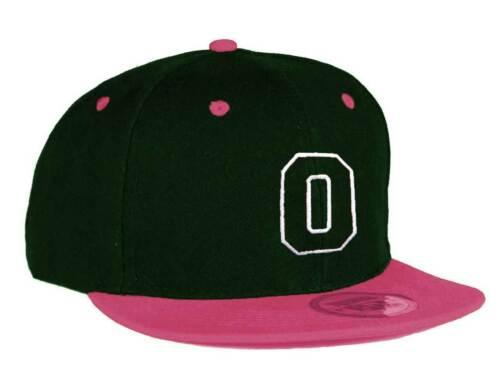 femmina Snapback Rosa piatto picco Cappellino Alfabeto A-Z Gioventù Bambini Cappello maschio