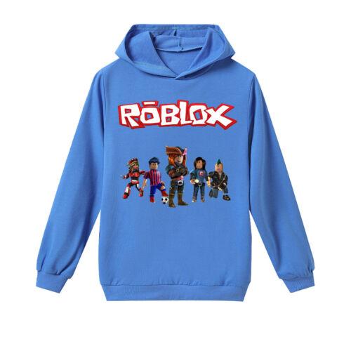 6-14 years old ROBLOX long sleeve fashion casual boy hoodie shirt XMAS GIFT