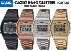 CASIO B640WBG-1BEF⎪B640WCG-5EF⎪B640WDG-7EF⎪B640WGG-9EF⎪Vintage EDGY⎪PURPURINA
