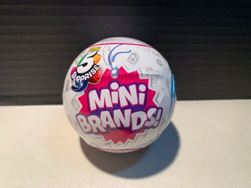 100/% REAL AUTHENTIC MINI BRANDS NEW 2019 5 SURPRISE MADE BY ZURU 1 BALL