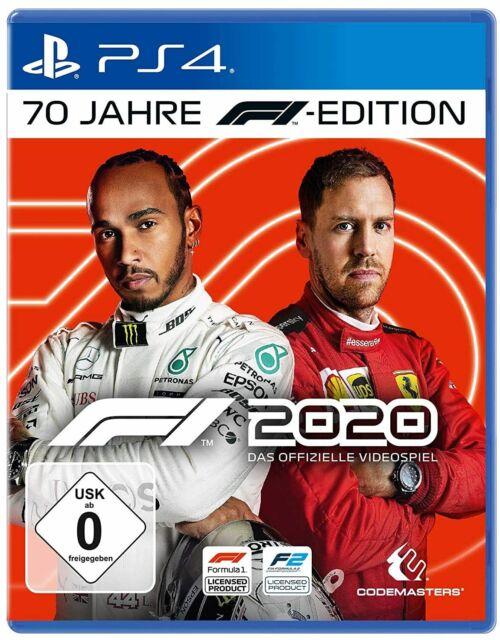 F1 2020 PS4 NEU OVP