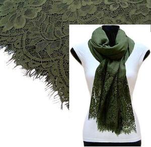 Vintage Red Large Scarf Lace Shawl Floral Wrap Cotton Scarf Plain Pashmina Hijab