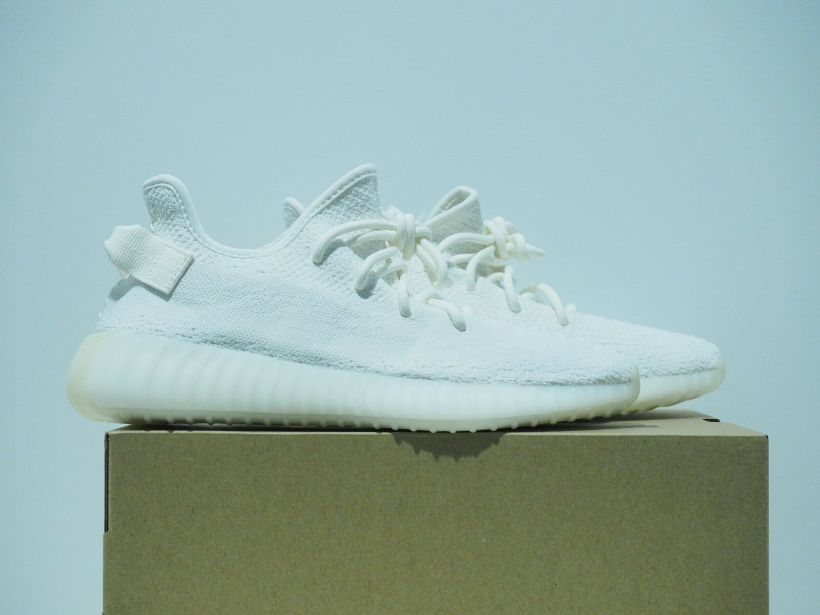 Adidas Yeezy Boost 350 V2 Cream Triple White CP9366 Size 9.5