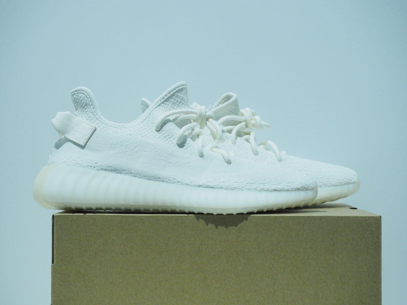Adidas Yeezy Boost 350 V2 Cream Triple White CP9366 Size 9.5