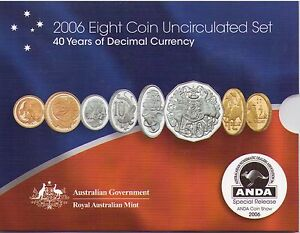 2006-RAM-Uncirculated-Mint-Set-40-Years-of-Decimal-Currency-ANDA-Coin-Show
