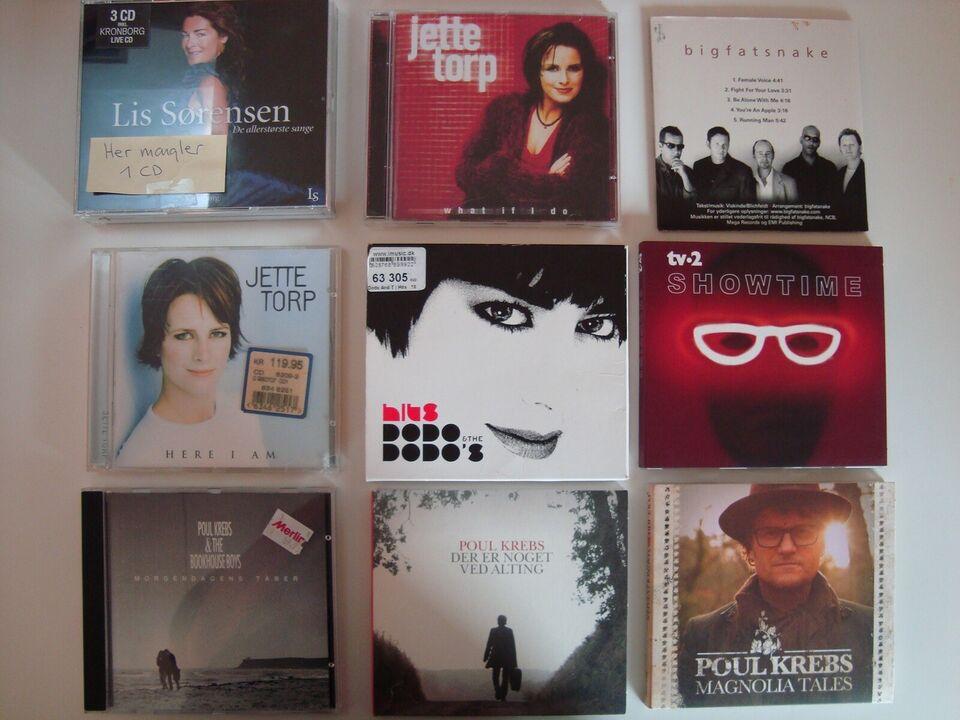 39 CD'er af mange: forskellige kunstnere, andet
