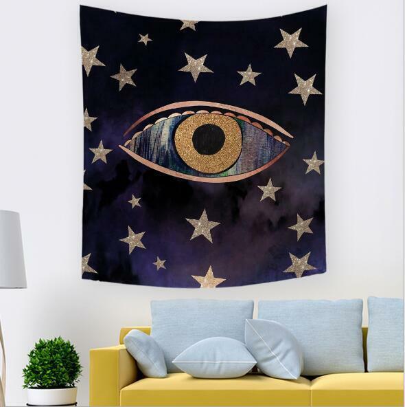 3D Sternenaugen M278 Tapisserie Hängendes Tuch Hängen Wallpaper Wandbild Amy