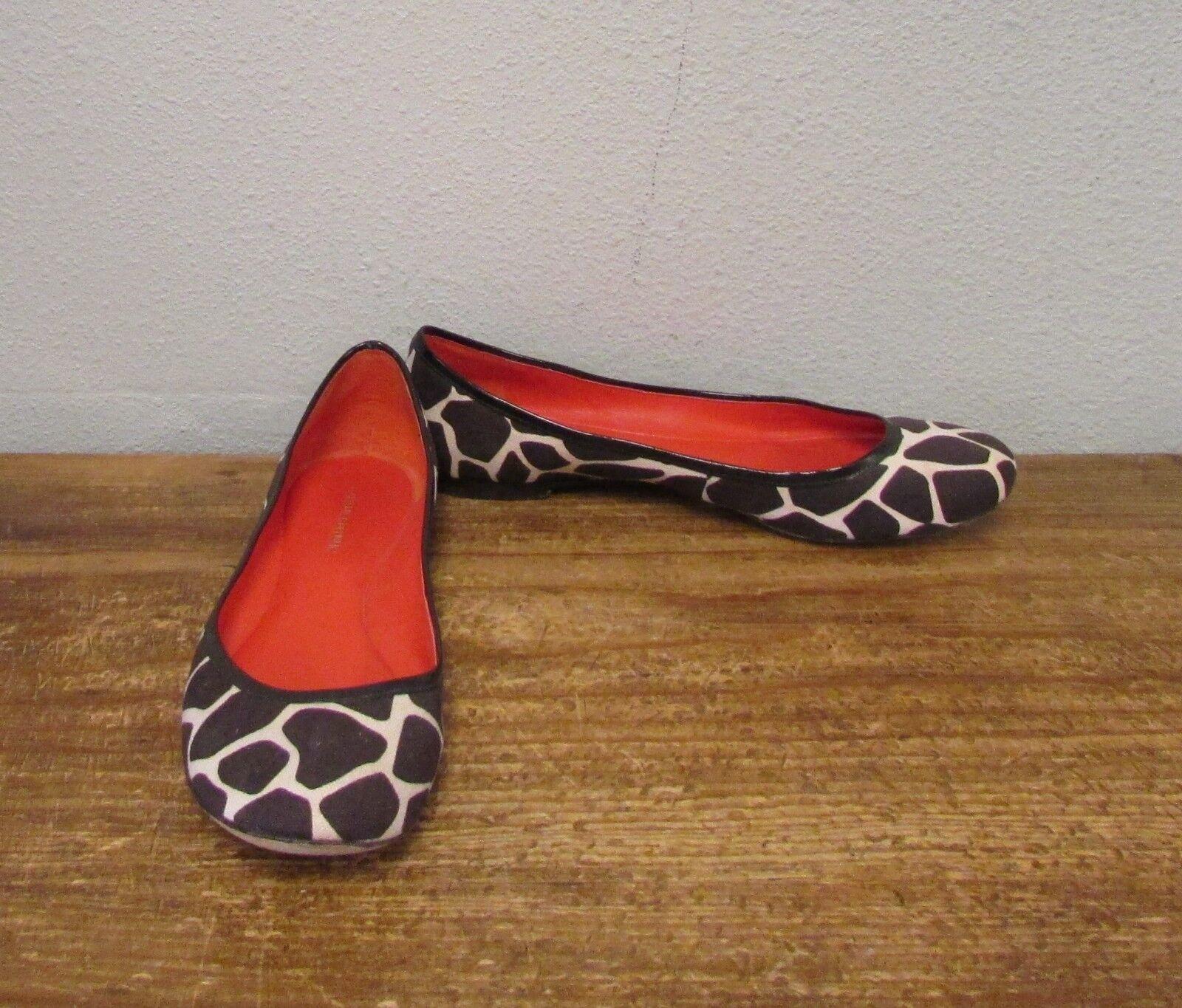 BANANA REPUBLIC Brown Brown REPUBLIC Animal Print Ballet Flats - 6 783761