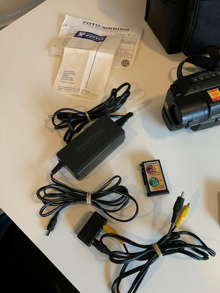 HandyCam Vision Video 8 , digitalt, Sony
