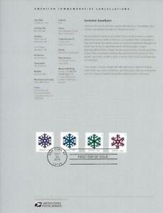 1537-49c-Forever-Geometric-Snowflakes-5031-5034-Souvenir-Page